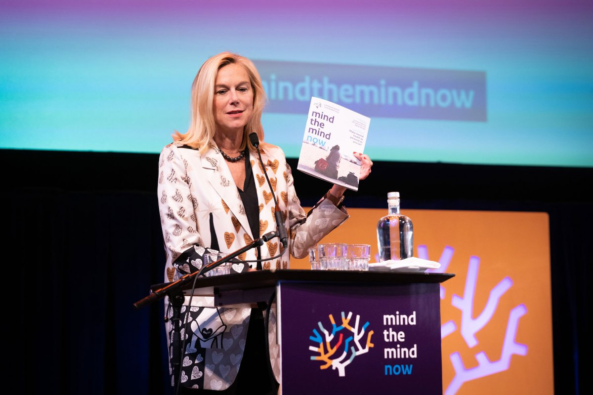 Sigrid Kaag met Mind the mind now magazine